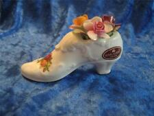 Royal Albert Old Country Roses Shoe/Slipper with Posy of Flowers (3/15)
