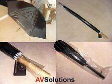 Bang & Olufsen B&O Umbrella - Golf - Black - Rare!