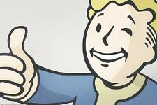 24x36 FALLOUT 4 VAULT BOY POSTER rolled and shrink wrapped