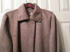 NEW WOMENS LLAMA WOOL BROWN LONG COAT  BY BERGHAUS ENGLAND SIZE14 recomended