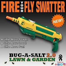 Authentic BUG-A-SALT LAWN&GARDEN 2.0 Gun Fly Swatter Insect Garden Pest Control