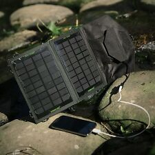 Poweradd Solar Panel Power Bank Charger For iPhone 5S 4 Samsung Galaxy Tab Gopro