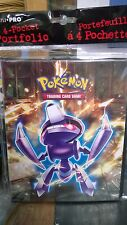 Pokemon Black & White  4 Pocket Page Portfolio Album Binder Holder Card New