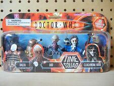 Doctor Who TIME SQUAD 5-Pack A SEALED: Pyrovile Dalek Ood Clockwork Man Sychorax