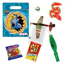Boys Pre Filled Batman Party Bags Children Ready Made Superhero Loot Goody Bag
