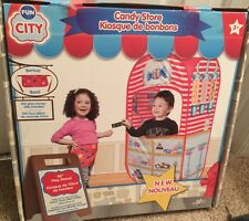 Children's Candy Store Playhouse Stand Includes Apron And Play Money New