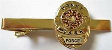 DONUT Doughnut Police Mini Badge Law Enforcement SHERIFF TIE BAR CLIP