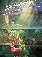 JOHN BOORMAN + THE EMERALD FORREST + POWERS BOOTHE + GERMAN 1-SH +