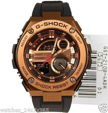 CASIO G-SHOCK CHRONOGRAPH GST-2210-4ADR COPPER/GOLD TONE LAYER GUARD STRUCTTURE