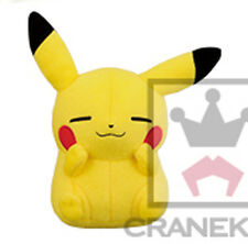 Pokemon 6'' Sleeping Pikachu Banpresto Prize Plush Anime Manga NEW