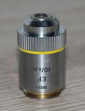 LEITZ Microscope microscope Objectif EF 10/0, 25