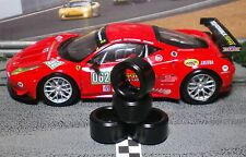 1/32 URETHANE SLOT CAR TIRES 2pr PGT-20126LM fit CARRERA Ferrari 458 GT2