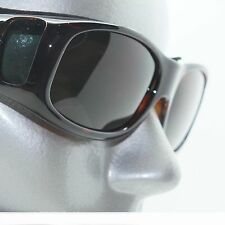 Brown Frame Sun Shade for Prescription Glasses Solar Spectacle Covers Sunglasses