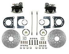 Rear Disc Brake Conversion Kit for Ford 8in & 9in Small Bearing with X Drill Rtr
