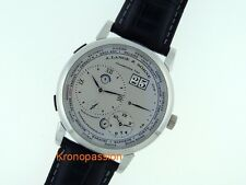 A.Lange & Sohne Lange 1 Time Zone Platinum 41.9 mm Ref.116.025