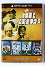 Angels in the Outfield Infield Endzone Perfect Game Disney Sports Movie 4 Pack