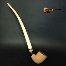 "TOBACCO SMOKING PIPE Gandalf - Hobbit CHURCHWARDEN   EXTRA LONG 14""   White"