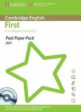 Past Paper Pack for Cambridge English First for Schools 2011 Exam Papers and Tea