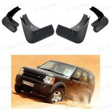4Pcs Mud Flaps Splash Guard Fender Mudguard fit for Land Rover Discovery 3