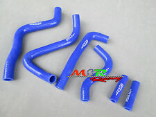 for Kawasaki KX250 KX 250 1999-2002 silicone radiator coolant hose kit blue