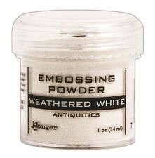 Ranger Ink Specialty 2 Embossing Powder Weathered White epj37538