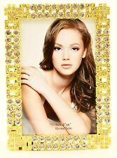Ciel Collectables Aleksandra Picture Frame, Swarovski Crystal, Gold Plating.