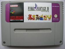 Final Fantasy IV 4 for Super Nintendo SNES PAL English