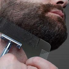 Beard Styling Shaping Template Comb Tool Moustache Face Neck For Men Shaving New
