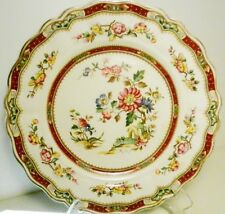 Grindley~Royal Petal Luncheon Plate~HAND PAINTED Connaught~Marlborough~England