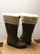 UGG EDMONTON CHESTNUT WATERPROOF BOOT US 7 / EU 38 / UK 5.5 - NEW