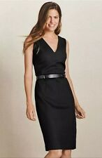 BNWT��Next��Size 12 Black Tailored Smart Pencil Dress Evening Office Work New