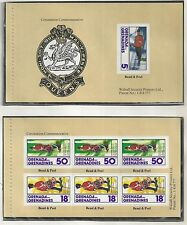 GRENADA GRENADINES # 274 a,b QUEEN ELIZABETH II CORONATION Self-Adhesives