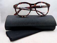 Prada VPR 13S UBO-1O1 Burgundy Tortoise New Authentic Eyeglasses 48/18/140mm
