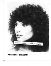 ADRIENNE BARBEAU GLAMOUR PORTRAIT  ORIGINAL VINTAGE glossy b&w movie photo