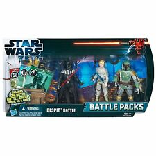 Star Wars Bespin Battle Pack Boba Fett Darth Vader Luke Skywalker Figuras