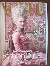 Vogue September 2006 - Kirsten Dunst as Marie Antionette, fashion, Picasso