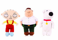 """NEW OFFICIAL 7"""" 9"""" 11"""" 15"""" FAMILY GUY SOFT TOY PLUSH STEWIE PETER BRIAN GRIFFIN"""