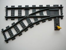 "LEGO - 53407 - Weiche links / Train Track  - ""DkStone"" (z.B.7898,7939,7895)"