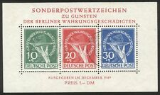 GERMANY #9NB3a RARE Used - 1949 Victims S/S ($2,100)