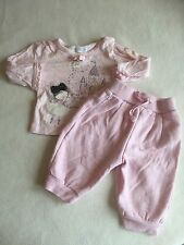 Baby Girls Clothes 3-6 Months - Cute  Outfit - T Shirt  Top & Joggers