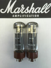 EL34 MARSHALL ORIGINAL SPARE VALVE/TUBE MATCHED PAIR (2PCS)
