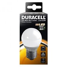Duracell LED E27 Screw Cap 3.5W Frosted Golf Ball Bulbs - Dimmable S6904