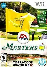 Tiger Woods PGA Tour 12: The Masters (Nintendo Wii, 2011) Complete FAST SHIPPING