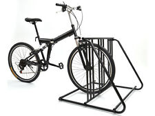 Bicycle Parking Storage Rack 1-6 Bikes Steel Park Stand Black Finish New 2/3/4/5