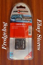 (b15) DIGITAL CAMERA BATTERY- REPLACES CANON NB-8L - 3.7v 750 mAh - POWERSHOT