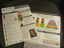 doterra essential oil TEAR SHEET Doctors & Medical providers  (sheets from pads)