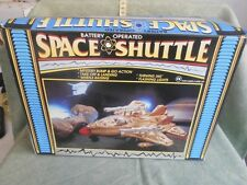 SPACE SHUTTLE BATTERY OPERATED FONDO  MAGAZZINO TOY VINTAGE