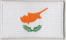 Cyprus Country Flag Embroidered Patch T4