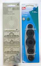PRYM PLASTIC & METAL SELF COVER BUTTON TOOL
