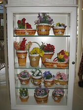 LONGABERGER CC Grandma Bonnie Mini May Series 14 Basket Combo's NO CABINET